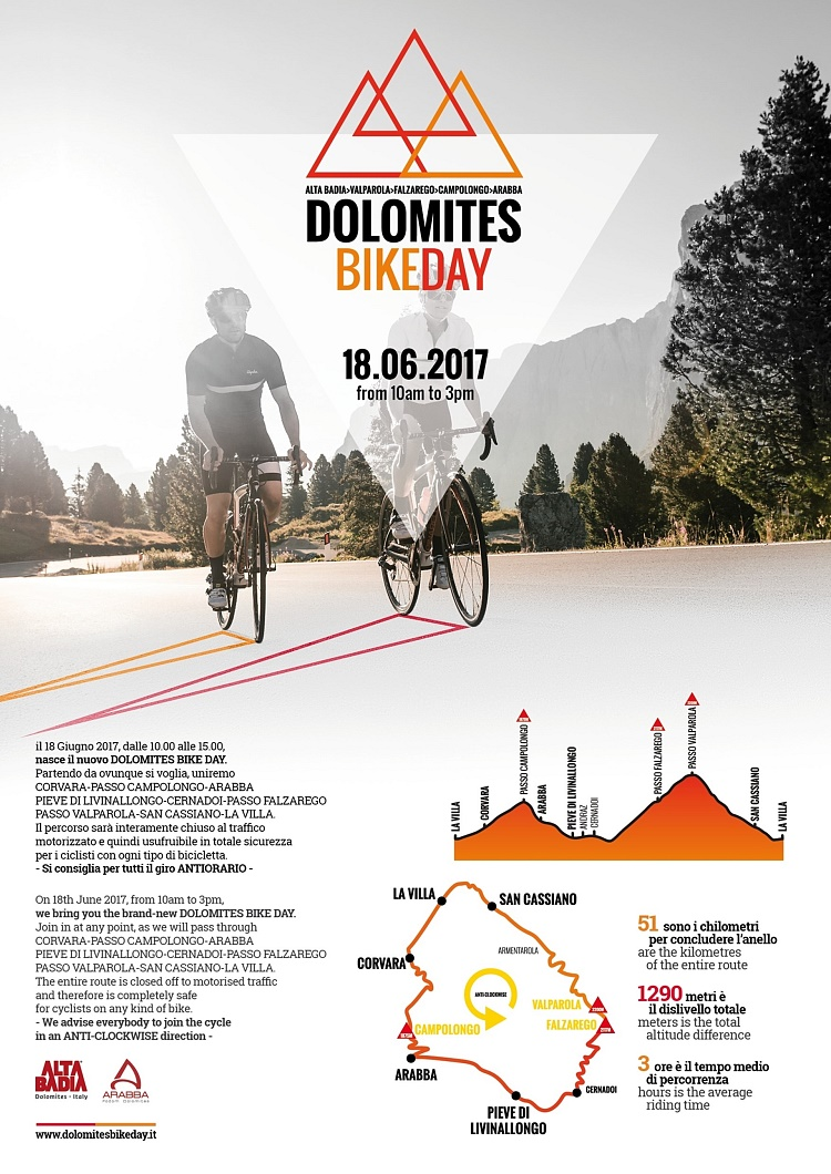 Dolomites Bike Day 18.06.2017