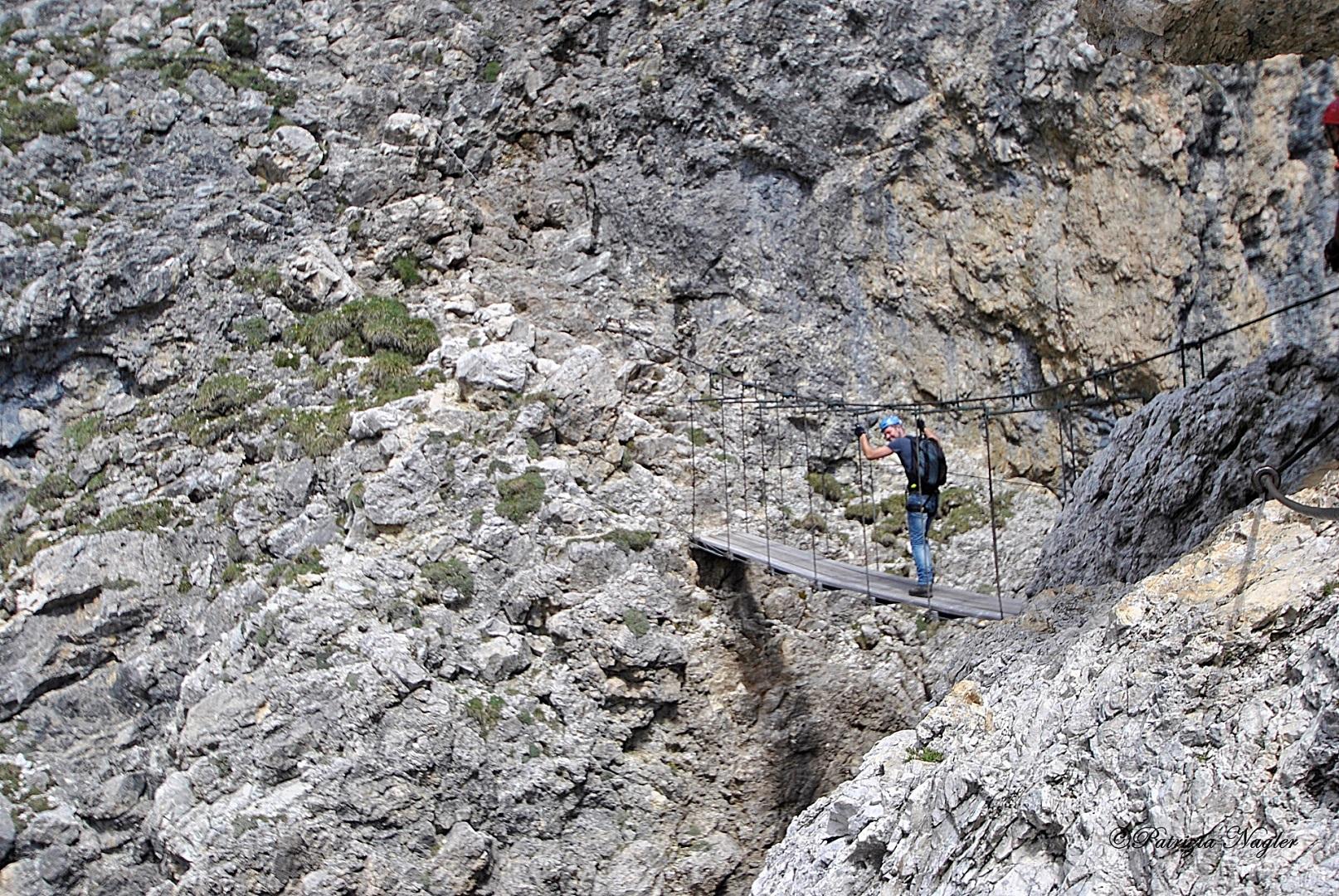 Vallon Klettersteig : Vallon boè klettersteig